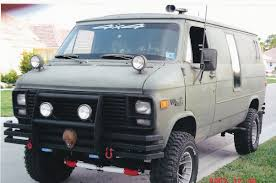 GMC Vandura history, photos on Better Parts LTD