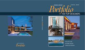 Home Design Portfolio 2014 2015 Cover Page D A Dunlevy