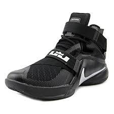 lebron nike basketball shoes. nike lebron soldier ix men us 9 black basketball shoe shoes a