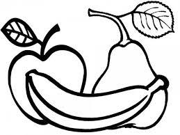 Manzanas Para Colorear Dibujos De Frutas Para Colorear Descargar E Imprimir