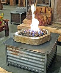 build outdoor propane fire pit diy lp table inside your own decor 17