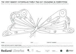 Hungry Caterpillar Coloring Page Fresh The Very Hungry Caterpillar