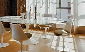 saarinen dining table carrara marble  hivemoderncom