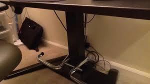 standing desk footstool. Delighful Standing DIY Foot Rest For Center Column Mayline Height Adjustable Desk Inside Standing Footstool R