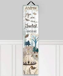 Toad And Lily Growth Chart Toad And Lily Adventure Personalized Growth Chart Customize