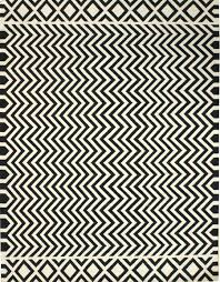 cool black white chevron dhurrie rugs for home accessories ideas black white rug home