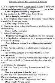 Driver's With Class California C License Answers Dmv Test Guide Ebay Study Written