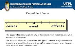 academic writing i bimestre  cause effect essays
