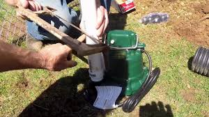 do it yourself back yard sump pump install for homeowners apple drains you