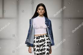 Portugal Designers Model Displays Creation By Portuguese Fashion Designers