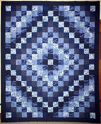 Trip Around The World Quilt Pattern Fascinating Trip Around The World I Love Blue QuiltsI Realize It Would Take