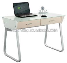 tempered glass study table with drawers buy study table tempered