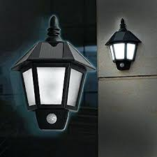 outside solar wall lights 2 pack led light outdoor sconces vintage motion sensor security for bunnings