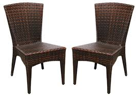 stackable resin patio chairs. Black Wicker Resin Chair Stackable Patio Chairs C