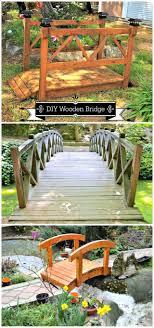 3 diy garden bridge plans made with wood diy projects diy home decor ideas