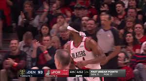 Maurice Harkless All Actions 05/03/2019 Denver Nuggets vs Portland Trail  Blazers Game 3 Highlights - YouTube