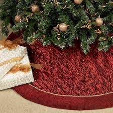 Juliette Artisan Christmas Tree Skirt  Balsam HillChristmas Tree Skirt Clearance