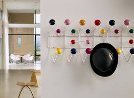 Coloured Ball Coat Rack HangItAll Coat Rack By Charles And Ray Eames OEN 78
