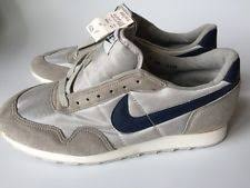 nike 80s. nwt vtg 1986 80\u0027s gray and navy blue nike athletic shoes sneakers kicks, sz 9 nike 80s