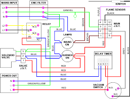 nrv nor ray vac burner internal wiring diagrams lr