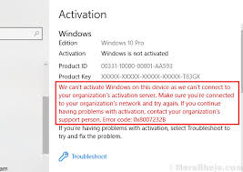 fix we can t activate windows on this