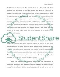 Swot Analysis Essay Examples Swot Analysis Paper Essay Example Topics And Well Written Essays