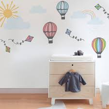 Gallery of Beautiful Hot Air Balloon Wall Decals