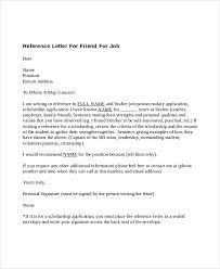 How To Write The Best Reference Letter For A Friend Career