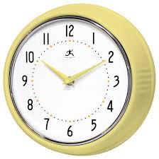 retro iron wall clock aura