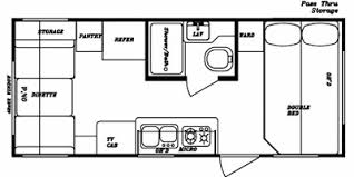 gulf stream kingsport lite trailer reviews prices and 2009 gulf stream kingsport 192 lite floorplan view floorplan