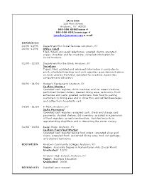 resume usa resume templates