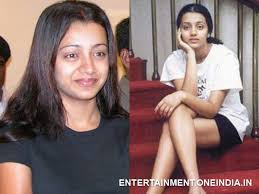 trisha without makeup