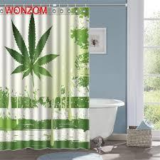 <b>WONZOM 3D</b> Panda Shower Curtains with 12 Hooks For ...