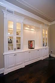 wall unit living room built ins