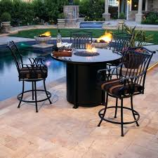 counter height outdoor dining set table