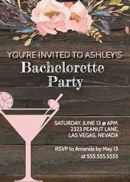 Bachelorette Party Invitation, Invite Rustic Template, Bride Bridal ...