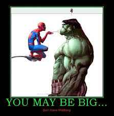 2685224-you_may_be_big_spiderman_spider_man_hulk_funny_demotivational_poster_1265304796.jpg via Relatably.com