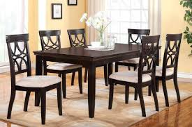 6 chair dining tables in table chairs home design ideas designs 1 set of 4 room