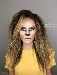 easy lion makeup tutorial sweet charli