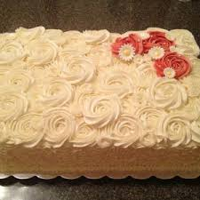 Sheet Cake Wedding Cake Ideas Satnw