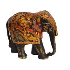 home decor handicrafts wooden elephant online shopping india