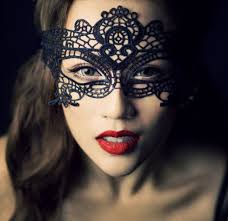 black victorian masquerade mask new year eve costume party