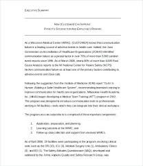 apa executive summary template executive memo format resume  apa
