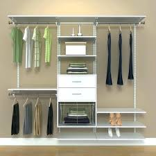 closet kits kit with drawers organizer systems wood starter