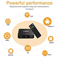<b>T95</b> S1 <b>Android TV BOX</b>, <b>Android</b> 7.1 Amlogic S905W Quad ...