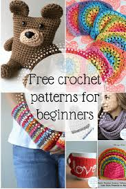 Free Crochet Patterns For Beginners Inspiration Free Crochet Patterns For Beginners