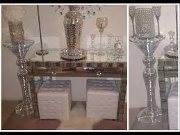 *NEW* Glam Entryway|Foyer Tour| Mirrored Console|Mosaic Vase| Home decor|  Home interior