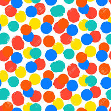 Polka Dot Pattern Cool Ditsy Vector Polka Dot Pattern With Random Hand Painted Circles