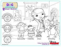 Doc Mcstuffins Coloring Pages Concept Of Disney Disney Junior