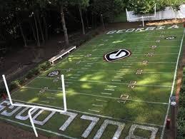 Eagles Back Yard Football Field  YouTubeFootball Field In Backyard